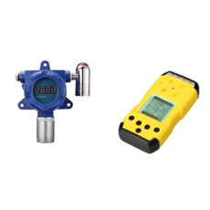 Portable and fixed gas detector